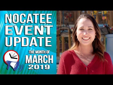Nocatee Events Update: March 2019