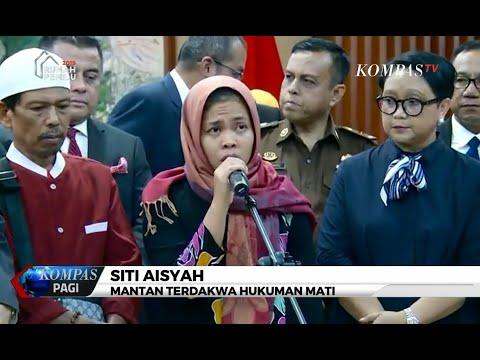 Bebas Dari Hukuman Mati, Siti Aisyah: Terima Kasih Bapak Jokowi