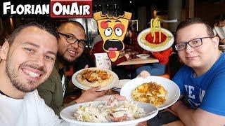 PIZZAS et PÂTES à VOLONTE dans un RESTO de LILLE  - VLOG #566