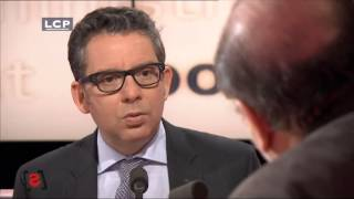 Frederic Haziza lache Manuel Valls sur l'Affaire Dieudonné 15 fev 2014 @LCP  Politiques