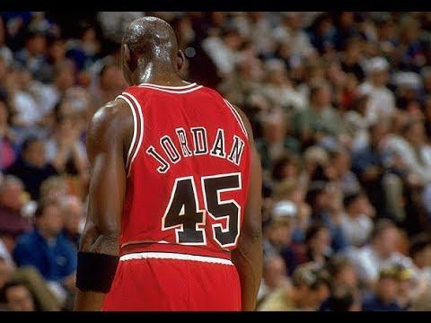 Michael Jordan 1995 # 45 - rare highlights from come back season