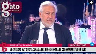 Julio Ariza razona en dos minutos los riesgos y beneficios de la vacuna del Covid en niños