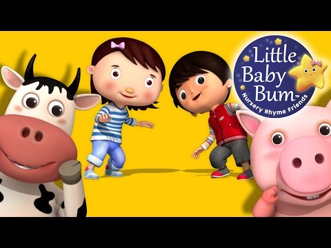 If You're Happy And You Know It | Part 2 | Nursery Rhymes | by LittleBabyBum!