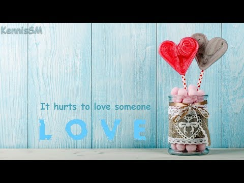 It hurts to love someone - A wonder Voice (  Subtitles ON )