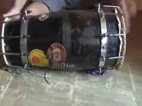 Sanjay Karandikar,Pune,India-Teaching Dholki - Basics - Lesson 1(Music Classes In Pune)