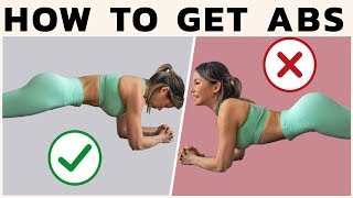 How to GET ABS & Engage Your Core | FIX These Mistakes + Tips
