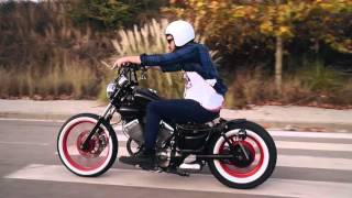 Repeat youtube video project bobber yamaha virago 535