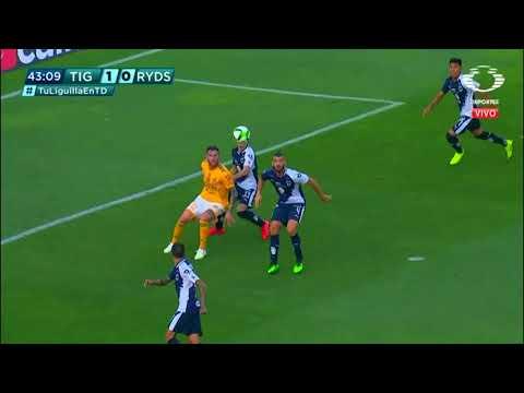Gol | Tigres UANL 1 - 0 Monterrey | LIGA Bancomer MX - Clausura 2019