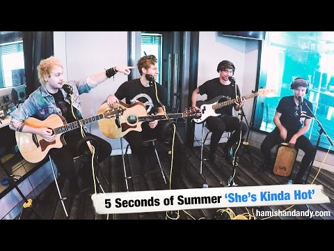 5SOS - She's Kinda Hot (acoustic)