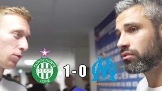 ASSE 🆚 OM (1-0) BERIC INTERVIEW PERRIN !!! + INTERVIEW DEBUCHY