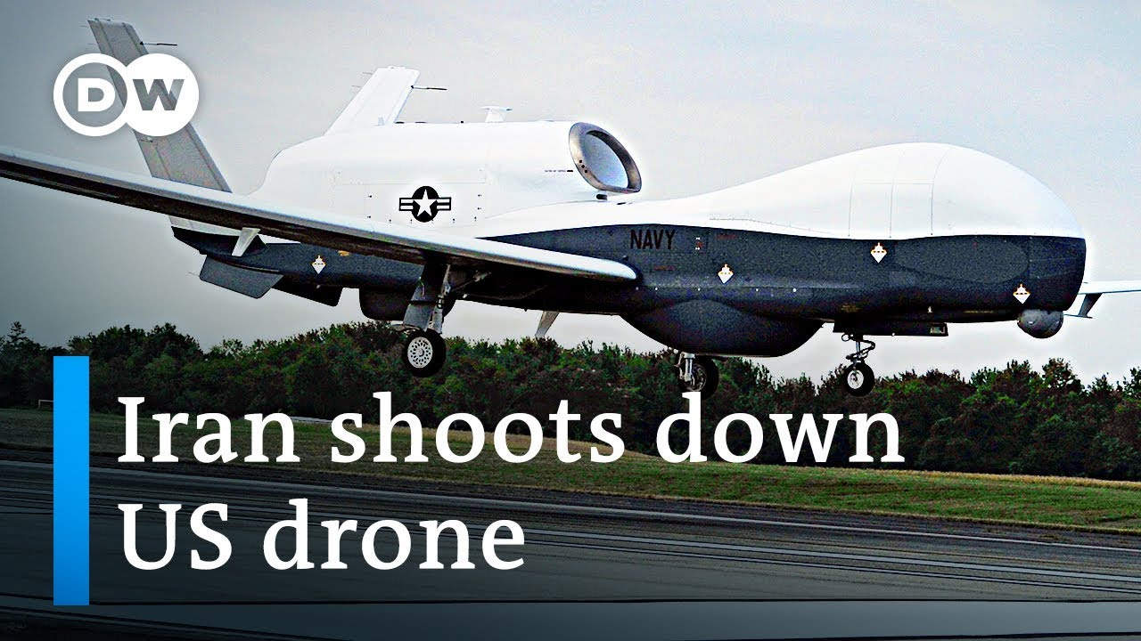 Iran shoots down US military spy drone | DW News