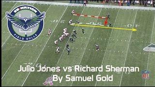 Julio Jones vs Richard Sherman | Week 6, 2016 (NFL Breakdowns Ep 37)