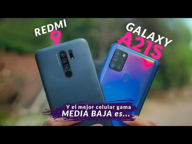 REDMI 9 vs GALAXY A21S│¿Cuál CONVIENE COMPRAR?🤔│Resultado Inesperado....😱