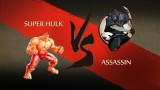 SUPER HULK Vs ASSSASSIN...Shadow Fight 2 Mod..!!