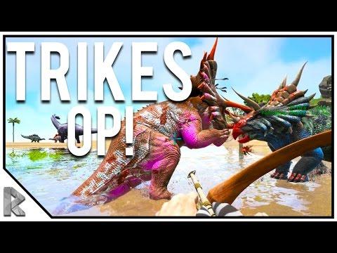 TRIKES ARE OP! - Pugnacia Dinos Modded Ark Twitch Server #3