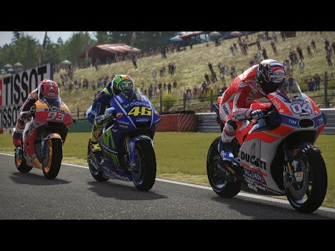 MotoGP 17   RACE   GP BRNO 2017   Valentino Rossi   Gameplay
