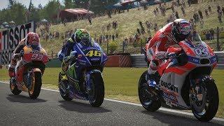 MotoGP 17 | RACE | GP BRNO 2017 | Valentino Rossi | Gameplay