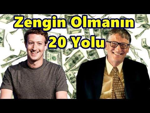 Zengin Olmanın 20 Yolu