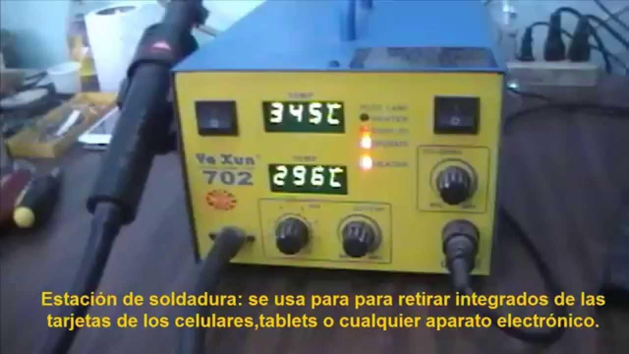17917c7fb82 Herramientas necesarias para reparacion de celulares y tablets - YouTube