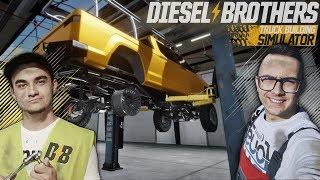 Bracia Pierdolec otwierają WARSZTAT! ☠ Diesel Brothers: Truck Building Simulator [#2]