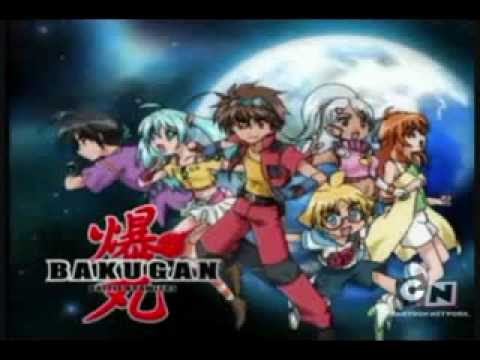 Bakugan intro english