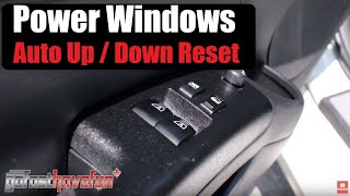 How To Reset/ Recalibrate Automatic Power Window Switches (Nissan 350Z) | AnthonyJ350
