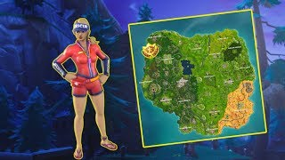 Follow the treasure map found in Snobby Shores - Week 5 Challenge !