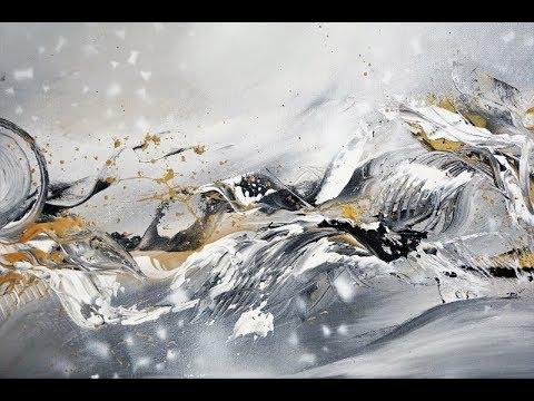 Acrylmalerei Einfach Malen Easy Painting Acrylic Painting V144