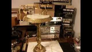 Brass And Marble Table Telephone Repair By Evertone  Www.a1-telephone.com  618-235-6959