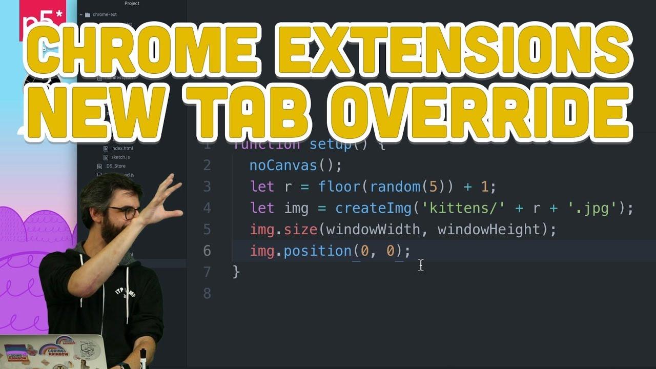 Chrome Extensions | Daniel Shiffman