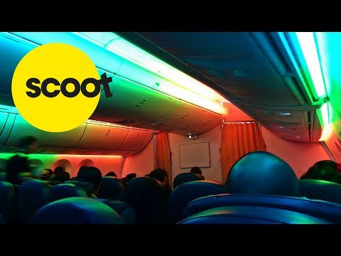 SCOOT | TAIPEI-SINGAPORE | BUSINESS CLASS | BOEING 787