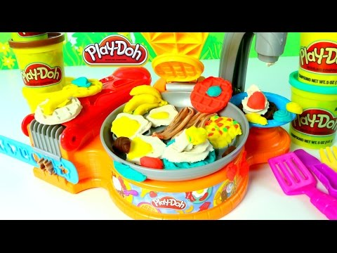 Plastilina Play Doh Fabrica de Desayunos Play Doh Breakfast Café|Mundo de Juguetes