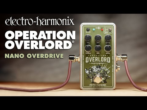 Electro-Harmonix launches the small but deadly Nano Operation Overlord | MusicRadar
