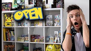 Opening a Pokemon Store in my House