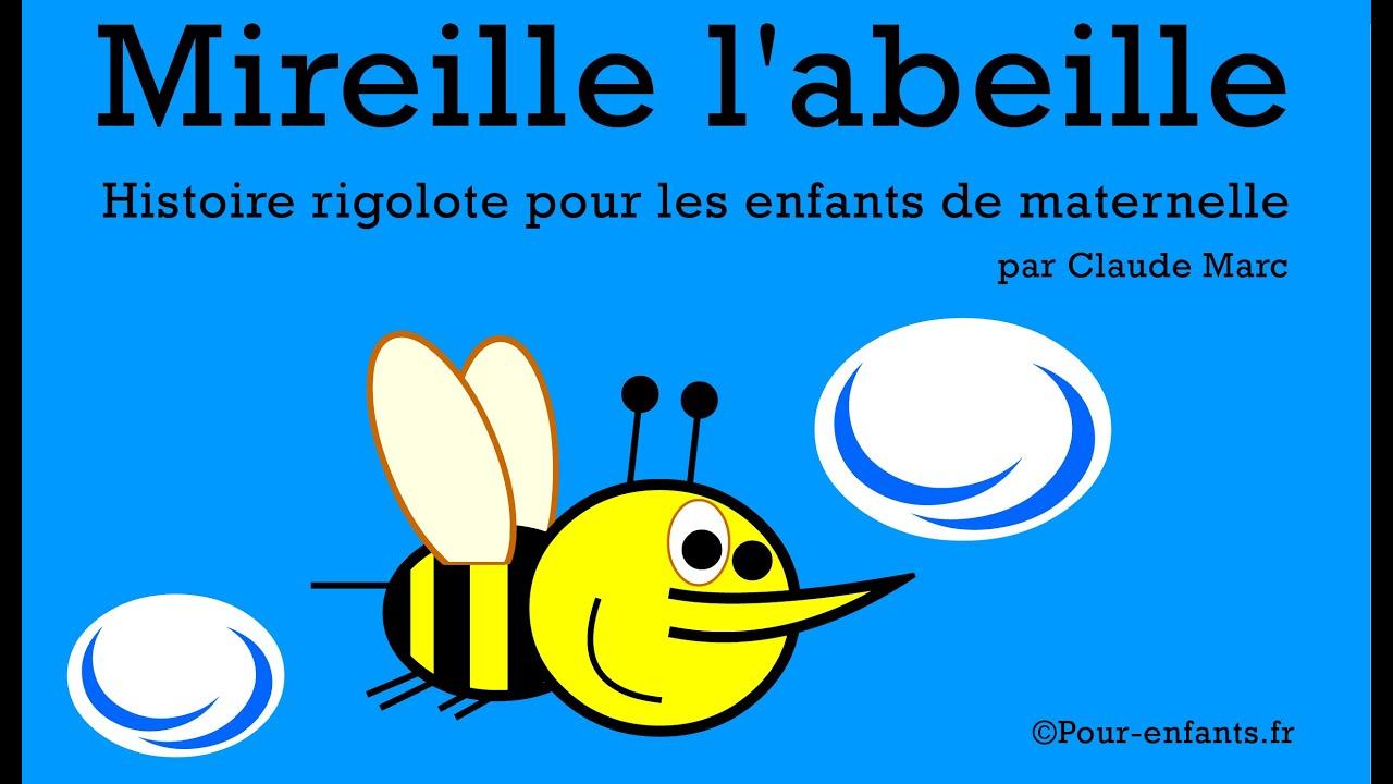 mireille l 39 abeille histoire pour enfants de maternelle youtube. Black Bedroom Furniture Sets. Home Design Ideas