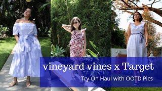 EXCLUSIVE: Vineyard Vines For Target Try-On Haul