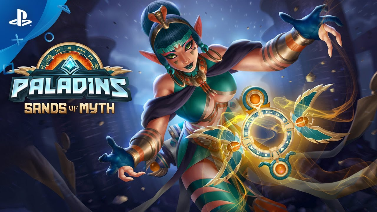 Assistir - Paladins - Sands of Myth Battle Pass Trailer | PS4 - online