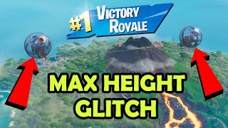 *NEW* FORTNITE MAX HEIGHT GLITCH WITH BALLER!