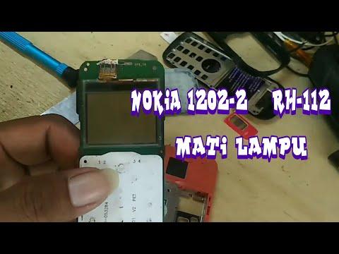Nokia 1202-2  Rh-112 Mati Lampu