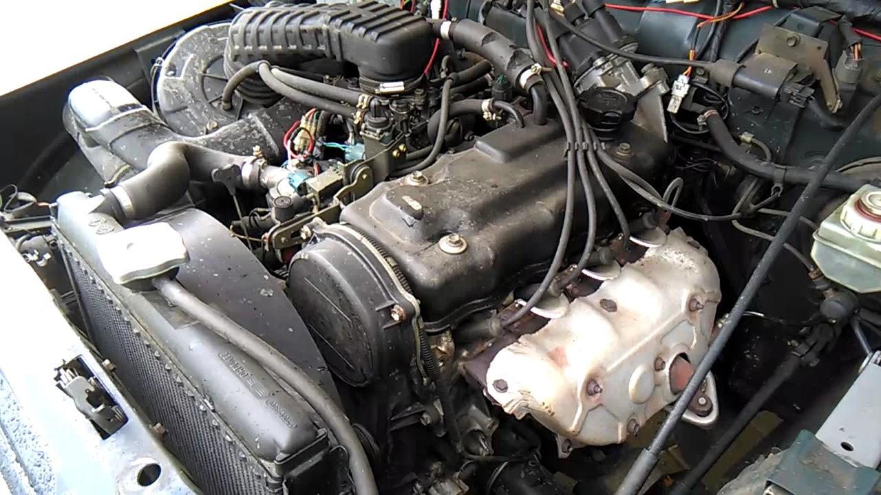 Suzuki Samurai 1 3i -motor