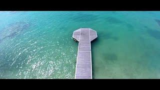 Vidéo de la ville de Saint François en Guadeloupe, station balnéaire des Caraibes