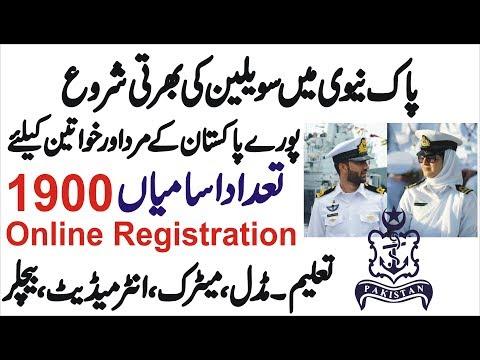 Repeat join Pak Navy as a Civilians 2019 Pakistan Navy Jobs