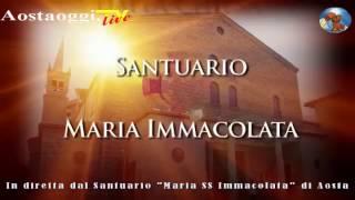 Repeat youtube video Santa Messa in diretta da Aosta Parrocchia Immacolata 16 Ottobre 2016 ore 10.30