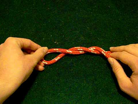 How to tie a stevedores knot