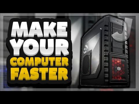 How To Make Your Computer FASTER (Fix Your Slow Computer/Laptop)
