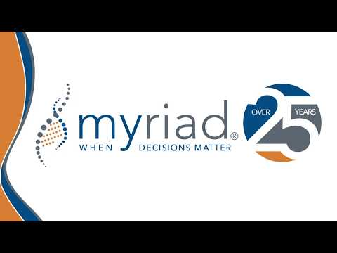 Our commitment to providing the best in genetic testing - Myriad Genetics