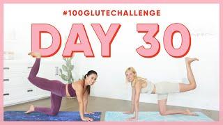 Day 30: Donkey Kicks! | 100 Glute Challenge w/ Gypset Goddess
