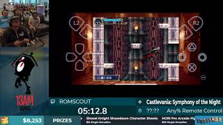 Calithon 2019 Castlevania: SotN iPhone speedrun (PS4 Remote Play)