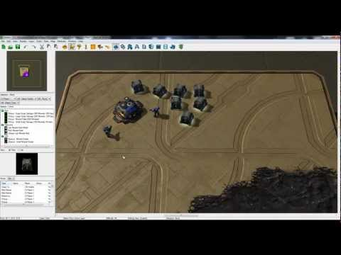 Starcraft 2 Map Editor -  Building custom...