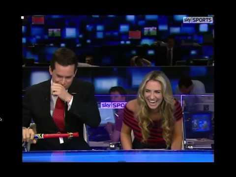 Hilarious Sky Sports News Prank